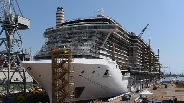 Msc Cruises and Fincantieri celebrate float out of Msc ...